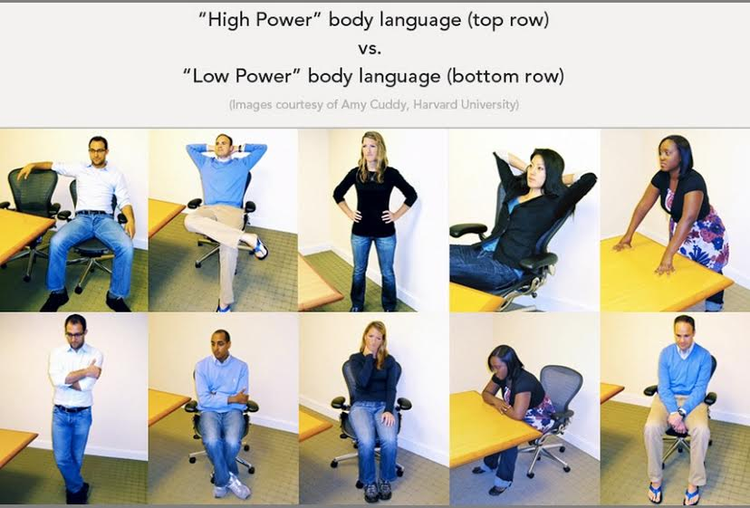 aumentar testosterona postura poder